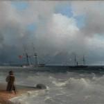 """Иван Айвазовский """"Морской берег"""" 1840"""
