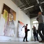 Отчетная выставка по итогам резиденции в мастерской на Буракова 27.