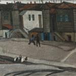 "Петр Горбань ""Старый двор"" 1968"