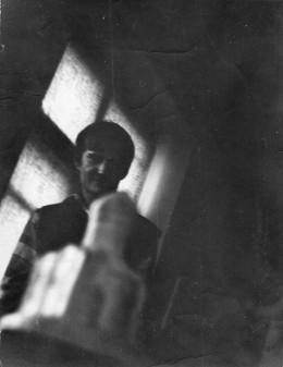 Сергей Мягких. В училище, аудитория 10. Сентябрь-октябрь 1980. Фотография: Михаил Королевский