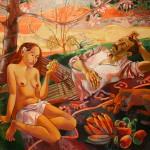 "О.Трушникова ""Вечер на Таити. Поль Гоген"" 2012"