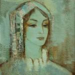 """Ю.С.Григорян """"Голубой портрет"""" 2006"""