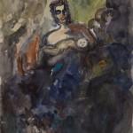 "Александр Лабас ""Мать с ребенком. Вариант 4"" 1957"