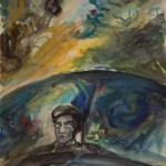 "Александр Лабас ""Ужас Хиросимы"" 1957"