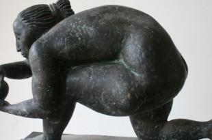 Выставка произведений Игоря Новикова. Скульптура.