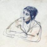 Зинаида Серебрякова «Автопортрет»