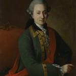 "Христинек Карл Людвиг ""Портрет графа Ф.Г. Орлова"" 1768"