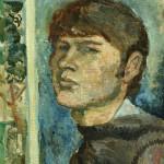 """Виктор Калинин """"Автопортрет"""" 1968"""