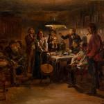 """Владимир Маковский """"Вечеринка"""" 1895"""