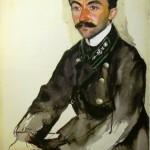 Зинаида Серебрякова «Портрет Е.М.Эйгеля» 1909
