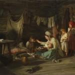 """Лемох К.В. """"Выздоравливающая"""" 1889"""