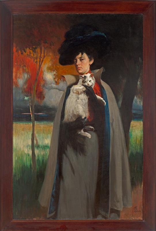 "Дмитрий Кардовский ""Портрет Марии Хрущевой"" 1900-е"