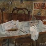 "Иван Пуни ""Столик в кафе"" 1928"