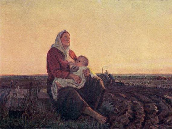Фёдор Шурпин «Мать (Сеятельница)» 1947
