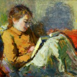 Исаак Дризе «Портрет дочери» 1951