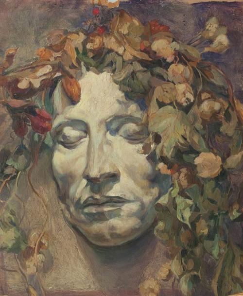 Николай Шестопалов «Маска Пушкина» 1915