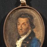 """Неизвестный художник с оригинала 1780-х """"И.А. Ганнибал"""" Третья четверть XIX в"""