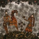 """Марина Соколова """"Эскиз декорации """"Осень"""" для м/ф """"Времена года"""" на музыку П.Чайковского, 1969"""