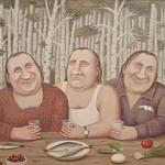"""Владимир Любаров """"Депардье в деревне Перемилово. На троих"""""""