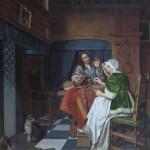 Корнелис де Ман «Игроки в шахматы»