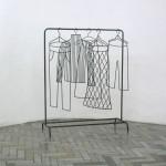 """Аня Желудь """"Схема пространства №5"""" 2007 Инсталляция (фрагмент)"""
