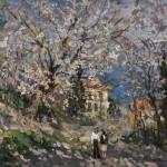 Макс Бирштейн «Весна в Крыму» 1989