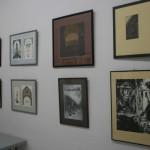 Графика участников выставки