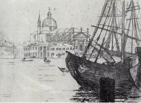 Игнатий Нивинский. Венеция.