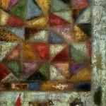 Алексей Чаругин «Пейзаж с лоскутным одеялом» 2006