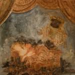 """Марина Соколова """"Эскиз декорации к опере """"Волшебная флейта"""" В.-А.Моцарта"""" Детский музыкальный театр Н.Сац, 1982"""