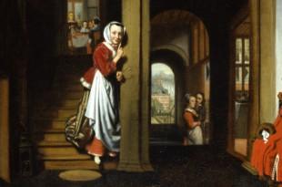 Искусство жить. Интерьер бюргерского дома в Голландии эпохи расцвета.
