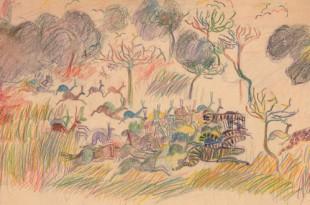 Май Митурич. Детские рисунки, рисунки для детей.