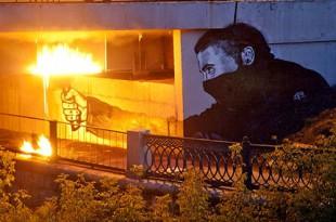 Паша 183 – уличный художник? Беседа с куратором Полиной Борисовой.
