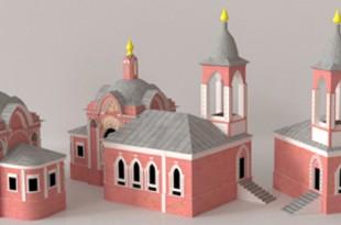 Утраченная Москва в 3D моделях: Китай-город.
