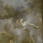 "Жан-Оноре Фрагонар ""Любовь, как безрассудство"" 1770"