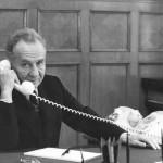 А.Н. Косыгин в своём кабинете. Москва, Кремль, середина 1970-х