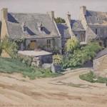 """Александр Бенуа """"Треберден, Франция"""" 1939"""