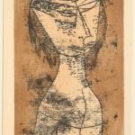 """Пауль Клее """"Святая внутренним светом"""" 1921"""