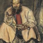"""Антон Чирков """"Крестьянин с кружкой"""" 1934"""