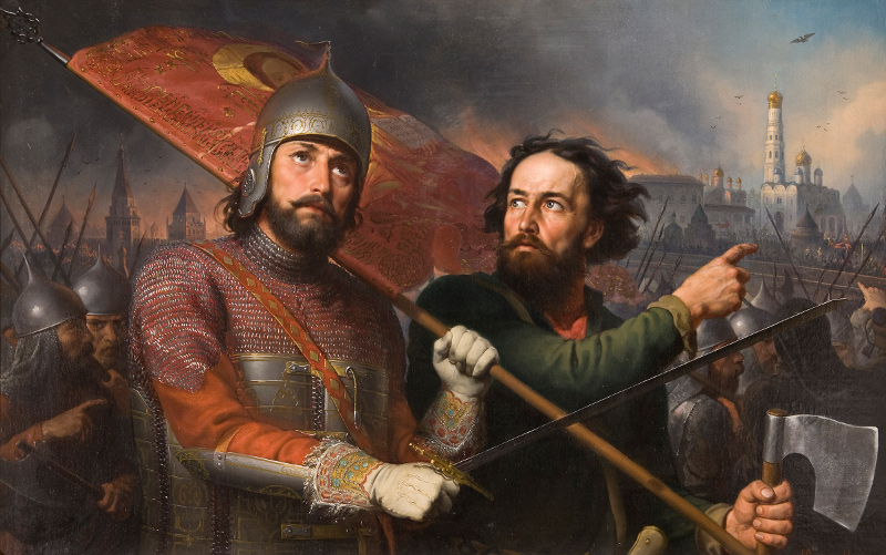 Михаил Скотти «Минин и Пожарский» 1850