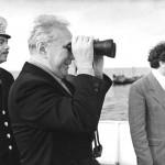 А.Н. Косыгин на отдыхе в Латвии, Рижский залив, 1977