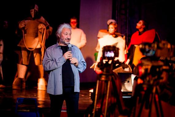 Премьера футуристической оперы «Победа над Солнцем», Кинотеатр «Ударник», 2015.