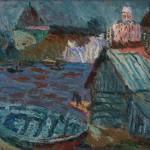 """Николай Тужилин """"На Волхове"""" 1985"""