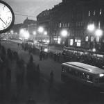 """Яков Халип """"Невский проспект ночью"""" 1936"""
