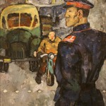 """Наталья Нестерова """"Постовой"""" 1960-е"""