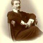 Л.С. Бакст. Санкт-Петербург. 1890-е. Фотография.