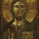 """Римская школа, XII век """"Благословляющий Христос"""""""
