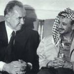 А.Н. Косыгин и Ясер Арафат. Май, 1975
