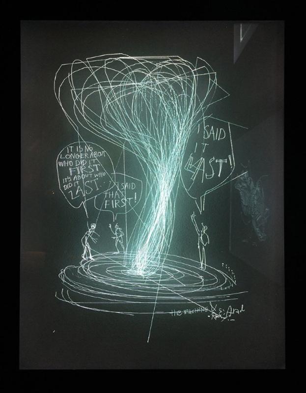 """Ron Arad """"Glasstress White Light / White Heat"""" 2013"""