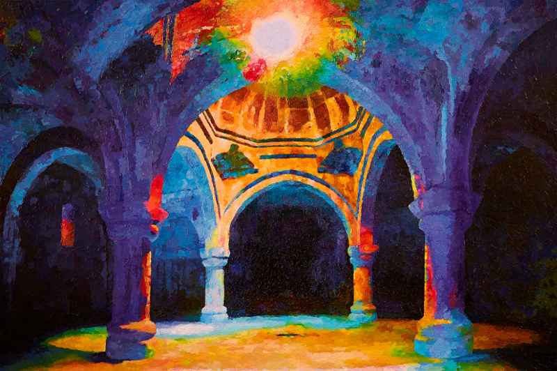 "Стас Намин ""Своды храма в монастыре Ахпат"" 2015"